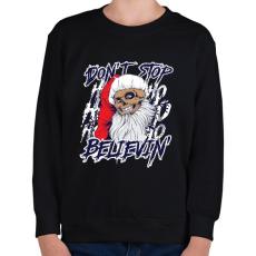 PRINTFASHION Hinni benne - Gyerek pulóver - Fekete