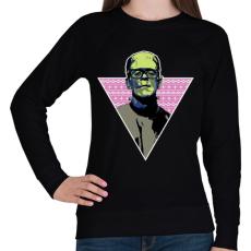 PRINTFASHION Hipszter gyár - Női pulóver - Fekete