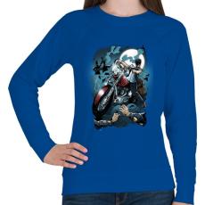 PRINTFASHION Hullavadász - Női pulóver - Királykék