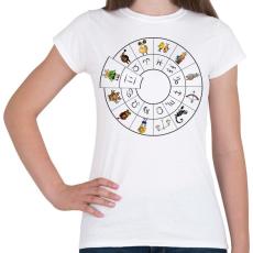 PRINTFASHION Ikrek - Női póló - Fehér