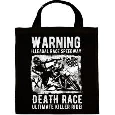 PRINTFASHION Illegális futam  - Vászontáska - Fekete