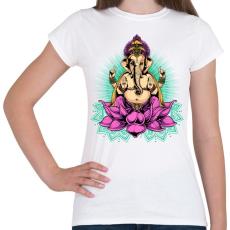 PRINTFASHION Indiai istenség - Női póló - Fehér