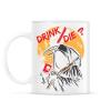 PRINTFASHION Ivás/halál ? - Bögre - Fehér