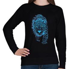 PRINTFASHION Jaguár - Női pulóver - Fekete