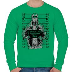 PRINTFASHION Jason - Férfi pulóver - Zöld
