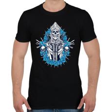 PRINTFASHION Jön a bosszú - Férfi póló - Fekete