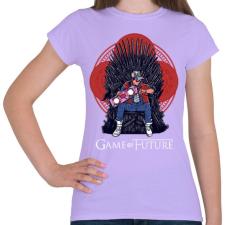 PRINTFASHION Jövő játéka - Női póló - Viola női ruházati kiegészítő