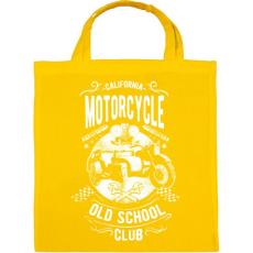 PRINTFASHION Kaliforniai öreg motorosok - Vászontáska - Sárga