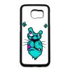 PRINTFASHION Kék oroszlán - Telefontok - Fehér hátlap
