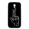PRINTFASHION Kézfegyver - Telefontok - Fekete hátlap