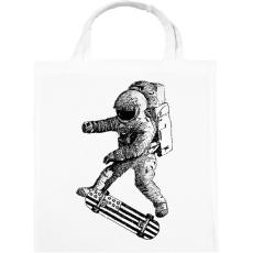 PRINTFASHION Kickflip in space - Vászontáska - Fehér