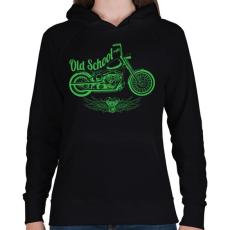 PRINTFASHION Klasszikus - Női kapucnis pulóver - Fekete