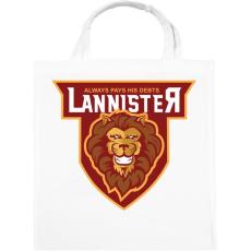 PRINTFASHION Lannister - Vászontáska - Fehér