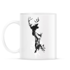 PRINTFASHION Last time I was a deer - Bögre - Fehér