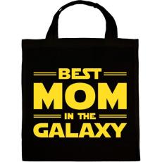 PRINTFASHION Legjobb anya a Galaxisban - Vászontáska - Fekete