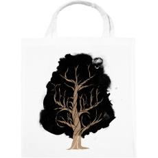 PRINTFASHION Let the tree grow - Vászontáska - Fehér
