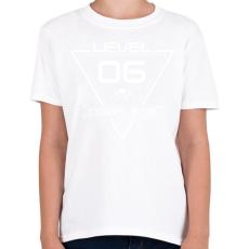 PRINTFASHION level-complete-06-white - Gyerek póló - Fehér