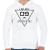 PRINTFASHION level-complete-09-grey - Férfi kapucnis pulóver - Fehér