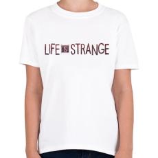 PRINTFASHION Life Is Strange - Gyerek póló - Fehér