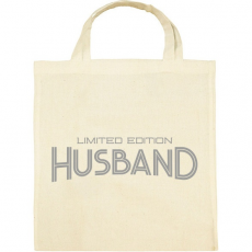 PRINTFASHION Limited Edition Husband - Vászontáska - Natúr