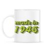 PRINTFASHION made-in-1945-green-grey - Bögre - Fehér