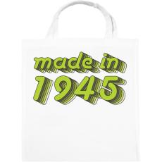 PRINTFASHION made-in-1945-green-grey - Vászontáska - Fehér