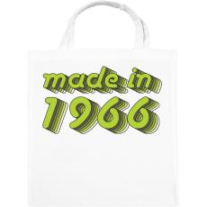 PRINTFASHION made-in-1966-green-grey - Vászontáska - Fehér