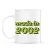 PRINTFASHION made-in-2002-green-grey - Bögre - Fehér