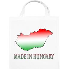PRINTFASHION Made In Hungary - Vászontáska - Fehér