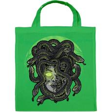 PRINTFASHION Medúza - Vászontáska - Zöld