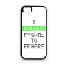 PRINTFASHION Megállítottam a játékot, hogy itt lehessek - Telefontok - Fehér hátlap