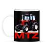 PRINTFASHION MTZ traktor - Bögre - Fekete