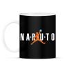 PRINTFASHION Naruto Air - Bögre - Fekete
