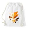 PRINTFASHION Naruto Kyubi Mode - Sportzsák, Tornazsák - Fehér