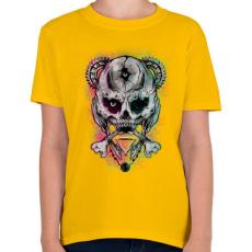 PRINTFASHION Nem Mickey - Gyerek póló - Sárga