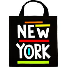 PRINTFASHION NEW YORK - Vászontáska - Fekete