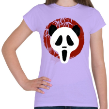 PRINTFASHION Panda Sikoly - Női póló - Viola női póló