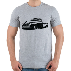 PRINTFASHION Pickup Truck - Férfi póló - Sport szürke