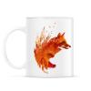 PRINTFASHION Plattensee fox - Bögre - Fehér