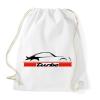 PRINTFASHION Porsche 911 turbo - Sportzsák, Tornazsák - Fehér
