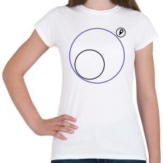 PRINTFASHION PUBG körön kívül - Női póló - Fehér