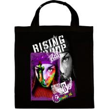PRINTFASHION RISING HIP HOP - Vászontáska - Fekete kézitáska és bőrönd
