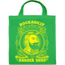 PRINTFASHION Rockabilly borbély - Vászontáska - Zöld