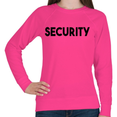 PRINTFASHION SECURITY - Női pulóver - Fukszia