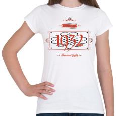 PRINTFASHION since-1932-red-black - Női póló - Fehér