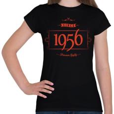 PRINTFASHION since-1956-red-black - Női póló - Fekete