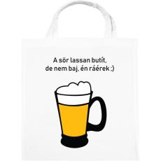 PRINTFASHION sör - Vászontáska - Fehér