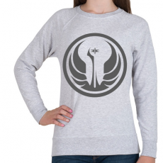 PRINTFASHION Star Wars Old Republic logo - Női pulóver - Sport szürke