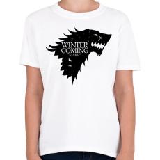 PRINTFASHION Stark - Gyerek póló - Fehér