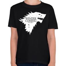 PRINTFASHION Stark - Gyerek póló - Fekete